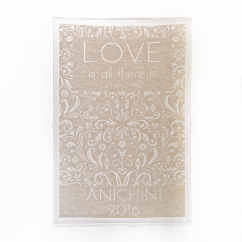 "Anichini 2016 ""Love"" Collector's Kitchen Towels"
