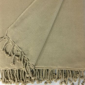 CHODRON 2-PLY TWILL WEAVE CUSTOM CASHMERE THROWS