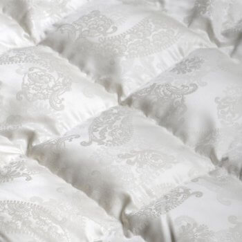 Anichini Dorit Paisley Luxury Silk Down Duvet Comforter