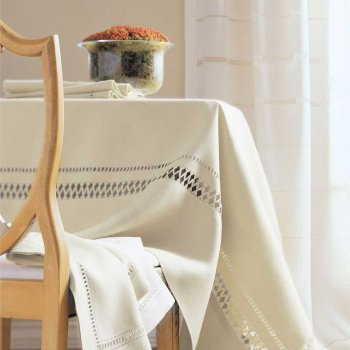 Anichini Grazuole Hand Finished Linen Table Linens
