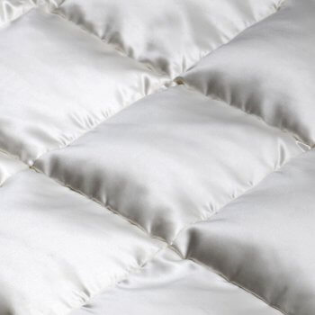 Anichini Helios Luxury Silk Covered Eiderdown Duvet Comforter