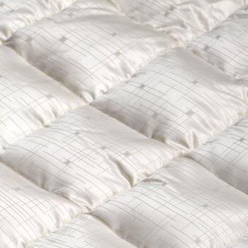 Anichini Jupiter Mid-Century Modern Geometric Silk Down Pillows Duvet Comforter
