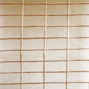 Anichini Ranchi Sheer Hand Loomed Natural Silk Fabric By The Yard