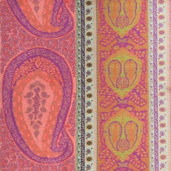 Anichini Taj 2.0 Heavyweight Jacquard Shower Curtains