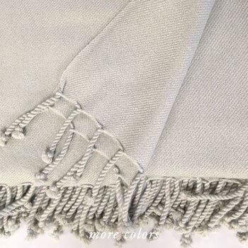 CHODRON 2-PLY TWILL WEAVE STOCK CASHMERE THROWS
