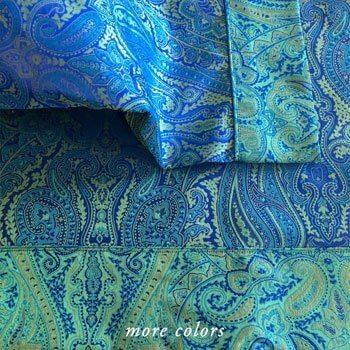 KASHMIR JACQUARD CASES & SHAMS