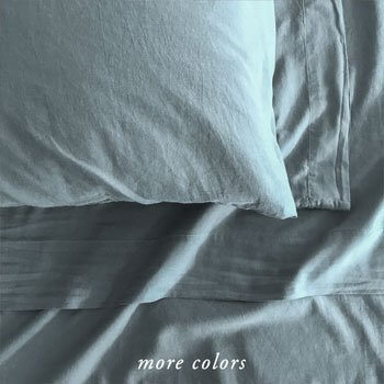 50% OFF MICHELLE CASHMERE SHEETS IN SLATE