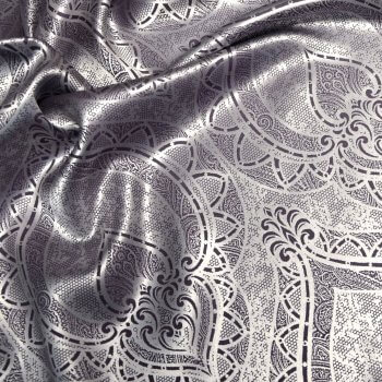 Anichini Casablanca Silk Sateen Foot Quilt, Throws, and Shams