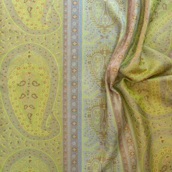 Anichini Taj Paisley Curtains In Green