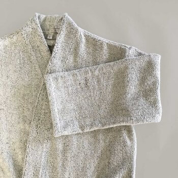Anichini Vilnius Solid Linen Terry Robes