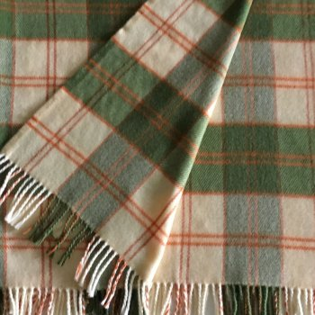 Anichini Mimosa Tartan Washable Throws