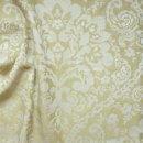 Anichini Lido Italian Linen Jacquard Sheeting in Khaki White