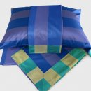Anichini Scheherazade Sheets In Marine Blue