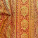 Anichini Taj Paisley Jacquard Sheets in Rust/Sage