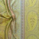 Anichini Taj Paisley Jacquard Sheets in Green