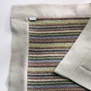 ANICHINI Vilnius Upcycled Striped Linen Terry Bath Towels