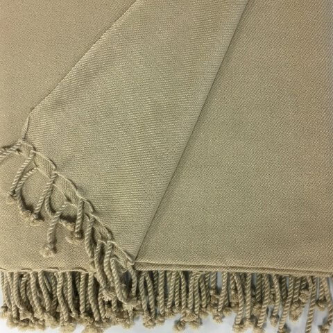 Anichini Chodron Hand Loomed 2-Ply Twill Weave Blankets & Throws