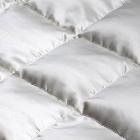 Anichini Helios Luxury Silk Down Duvet Comforter