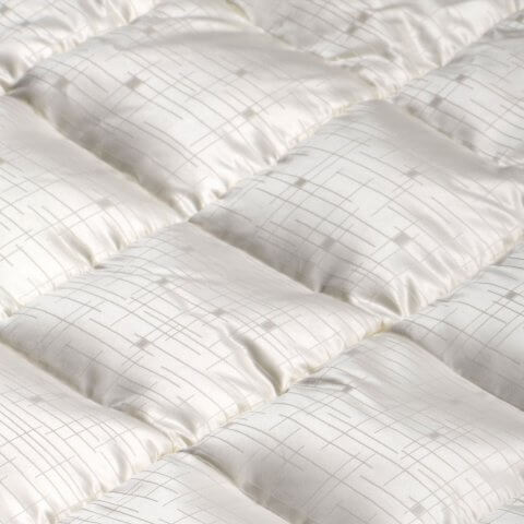 Anichini Jupiter Mid-Century Modern Geometric Silk Down Pillows Duvet Comforter