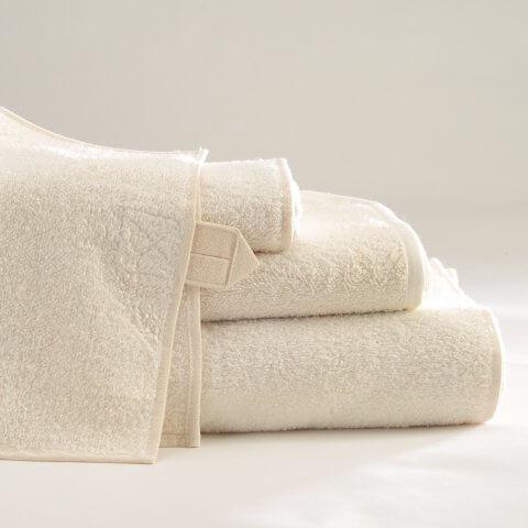 Anichini Vilnius Linen Terry Bath Towels