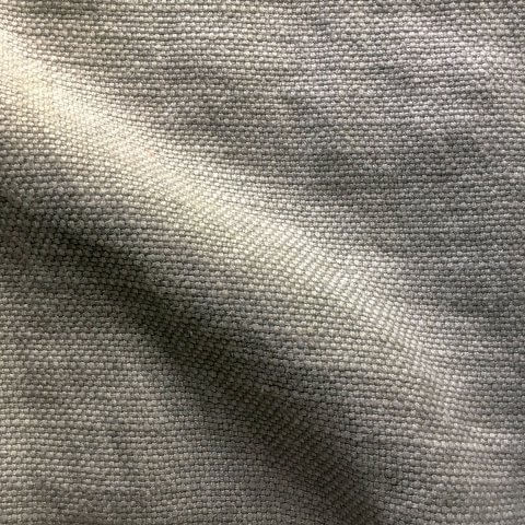 Anichini Yutes Collection Barroco Solid Basket Weave Linen Fabric