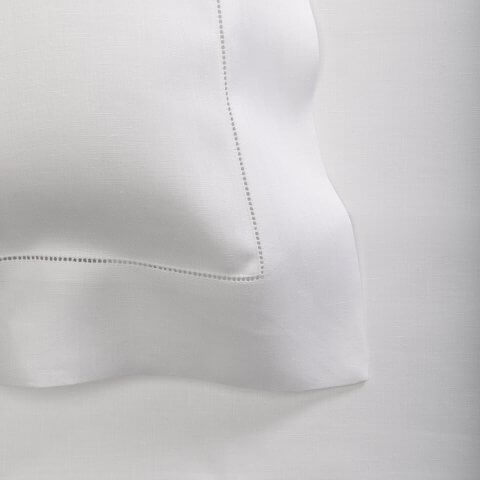 Anichini Claridge Italian Hemstitched Linen Sheeting