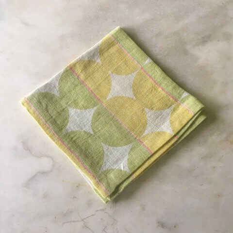 Anichini Contorno Modern Linen Table Runners In Neutral