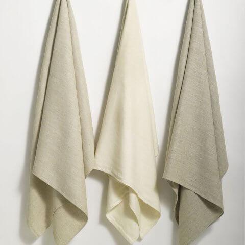 Anichini Donatas Flatweave Linen Guest Towels
