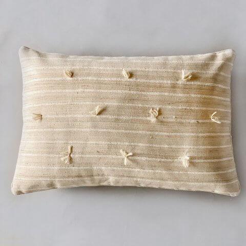 Anichini Sijua Hand Loomed Natural Silk Quilts & Pillows
