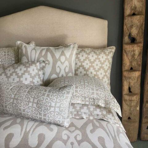 Anichini Tokkat Super Large Ikat Pillows