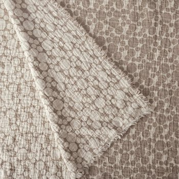 Anichini Hospitality Pebble Washable Linen Throws