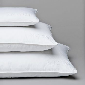 Anichini Signature Embroidered Egyptian Cotton Pillow Protectors