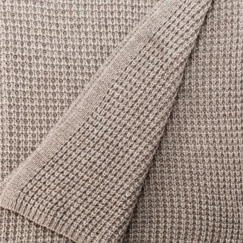 Anichini Hospitality Moss Ivy Washable Cotton Knit Throws