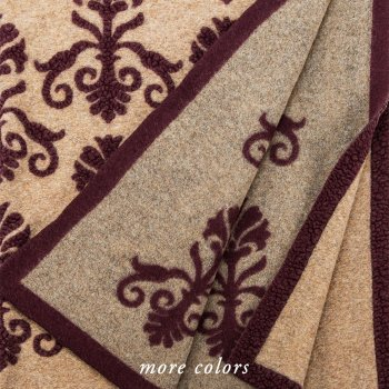 New Gothic Wool Blend Throw