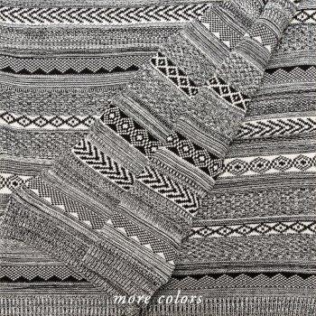 Anichini Hospitality Moss Ivy Washable Cotton Knit Throws