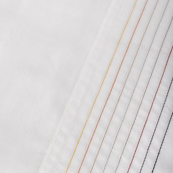 Anichini Hospitality Multicolor Stitch Custom Embroidery Sheeting