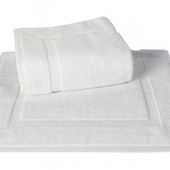 Anichini Hospitality Panel Stock Turkish Terry Bath Mats