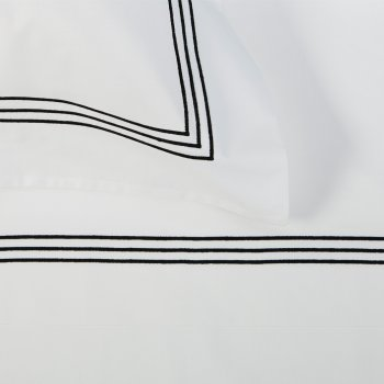 Anichini Hospitality Three Line Custom Embroidery Sheeting