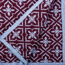 Anichini Hospitality Fleur De Lis Wool Blend Throw