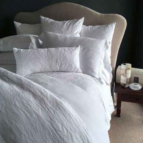 Anichini Nevada Redux Modern Italian Matelassé Coverlets, Bedding, And Shams