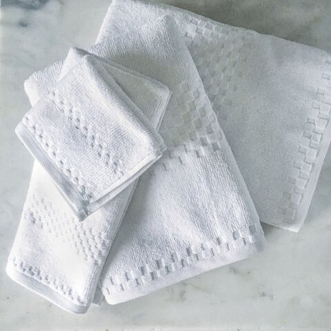Anichini Hospitality Fairfield Stock Turkish Terry Hotel Towels