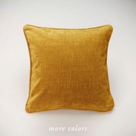 Anichini Horus Linen Velvet Pillows