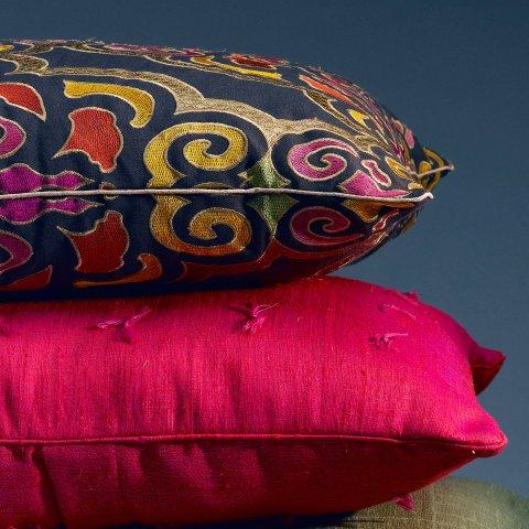 Anichini Pema Embroidered Pillows
