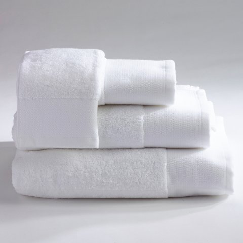 Anichini Hospitality Strie Custom Terry Bath Towels