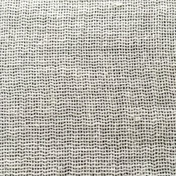 Anichini Yutes Collection Lahti Basketweave Sheer Linen Fabric