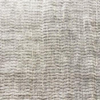 Anichini Yutes Collection Lahti Textured Stripe Sheer Linen Fabric