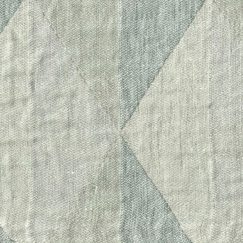 Anichini Yutes Collection Harlequin Diamond Jacquard Fabric In 03 Grey