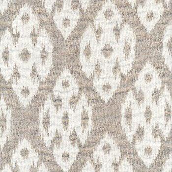 Anichini Yutes Collection Tokkat Small Diamonds Linen Matelassé Fabric