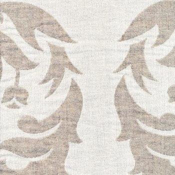 Anichini Yutes Collection Tokkat Large Floral Linen Matelassé Fabric