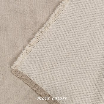BARBORA LINEN CHENILLE FABRIC BY-THE-YARD